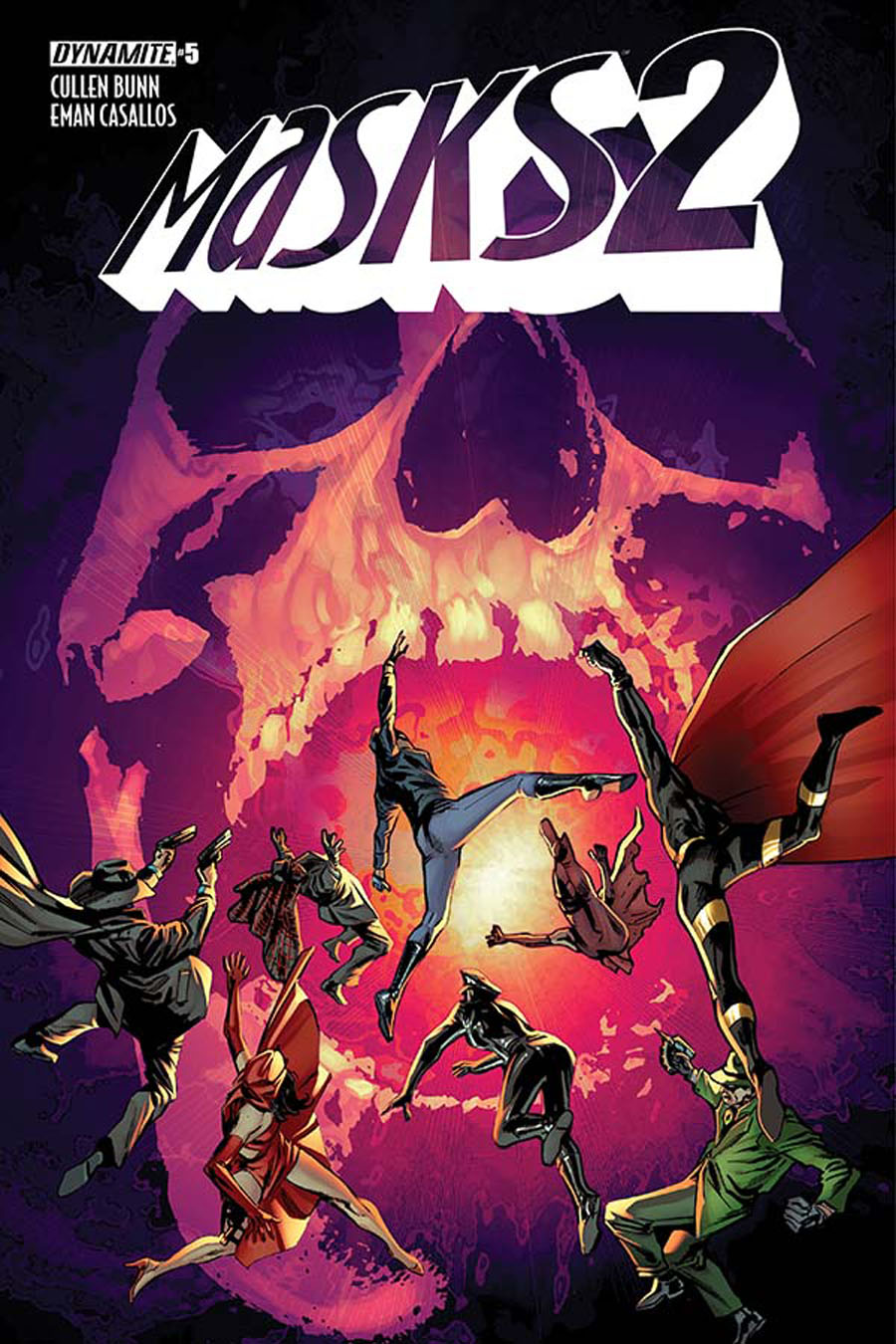 Masks 2 #5 Cover A Regular Butch Guice Cover