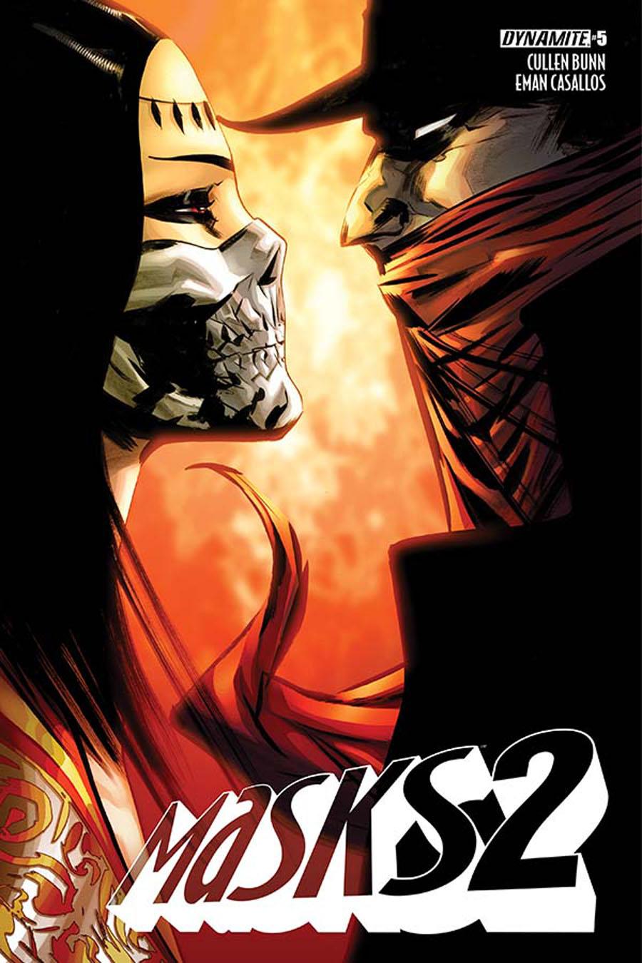 Masks 2 #5 Cover B Variant Jae Lee Cover