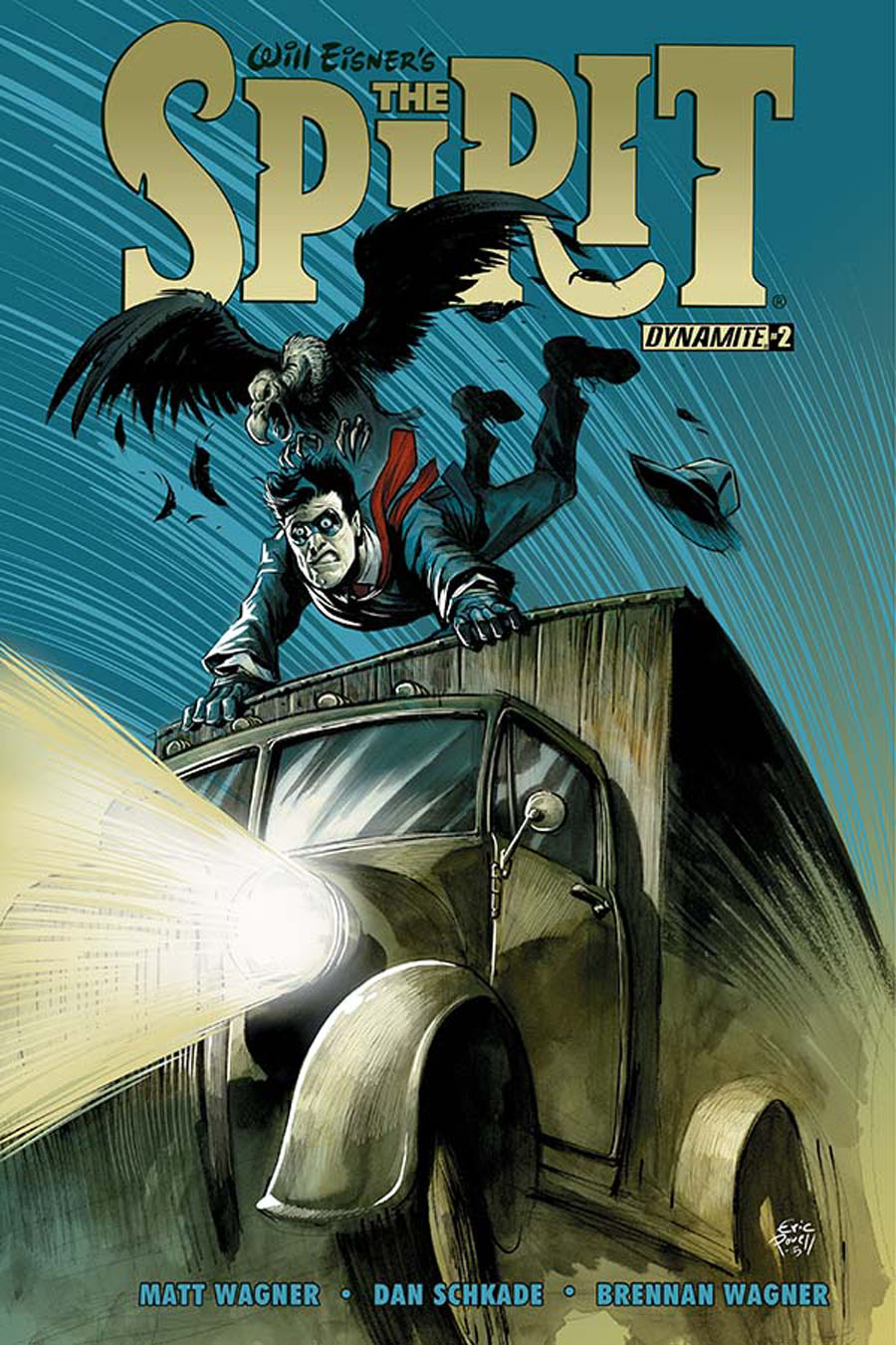 Will Eisners Spirit #2 Cover A Regular Eric Powell Cover