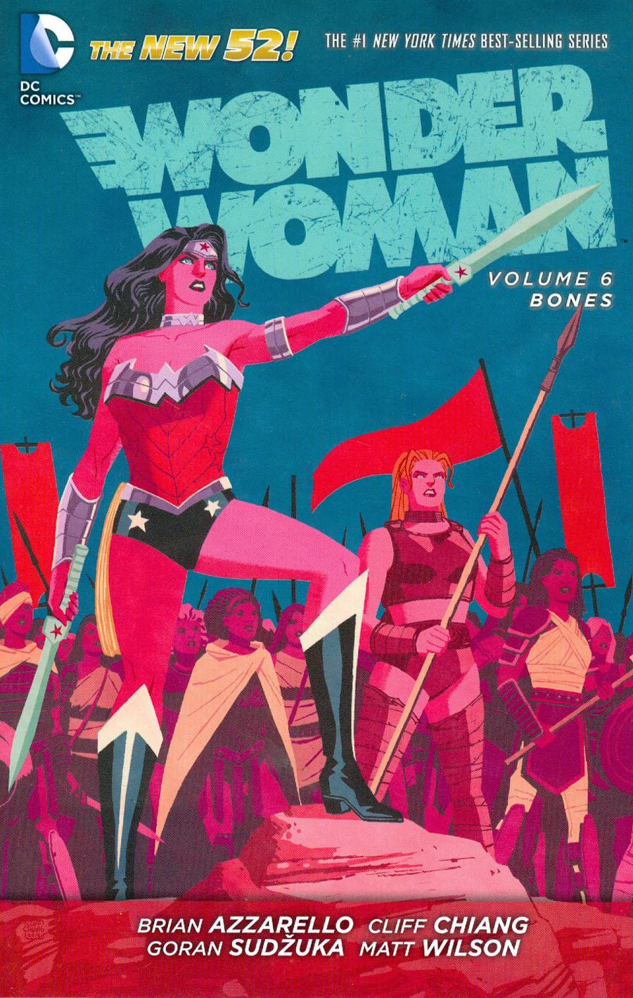 Wonder Woman (New 52) Vol 6 Bones TP