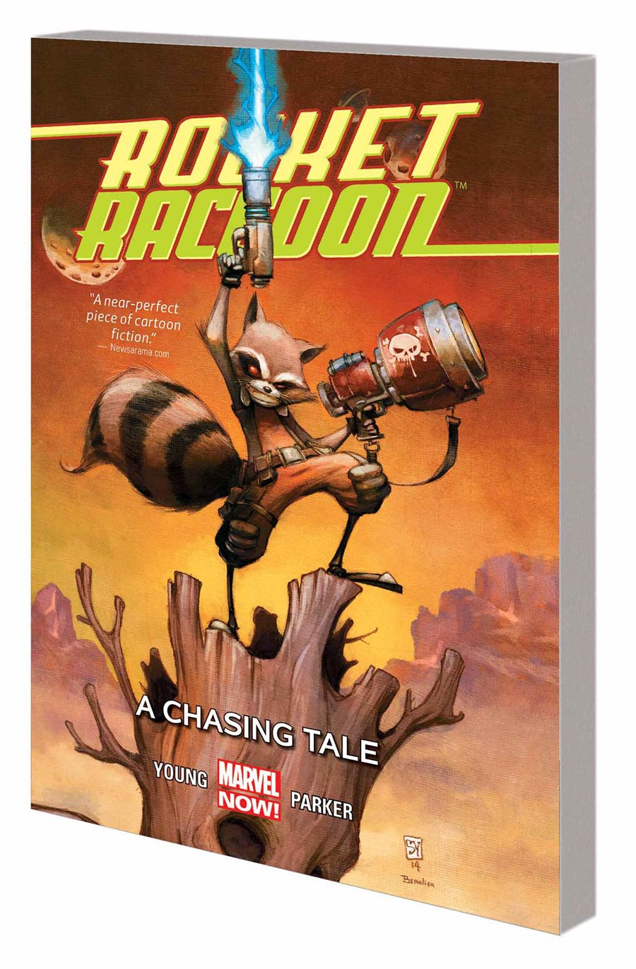Rocket Raccoon Vol 1 A Chasing Tale TP