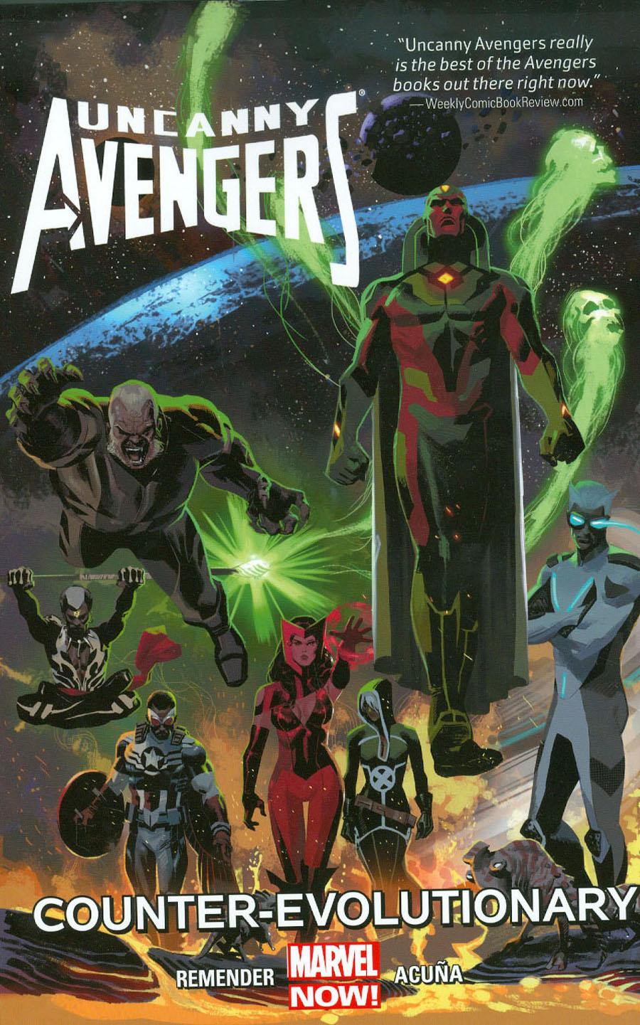 Uncanny Avengers Vol 1 Counter-Evolutionary TP