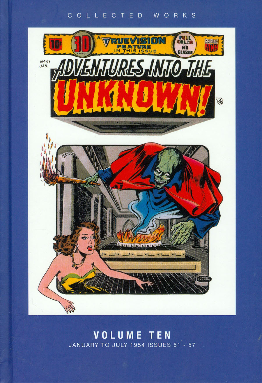 ACG Collected Works Adventures Into The Unknown Vol 10 HC