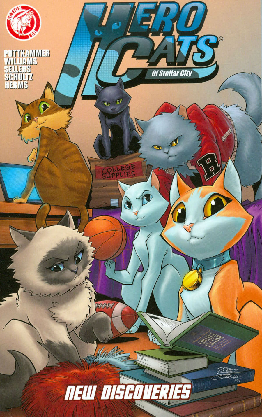 Hero Cats Of Stellar City Vol 2 New Discoveries TP