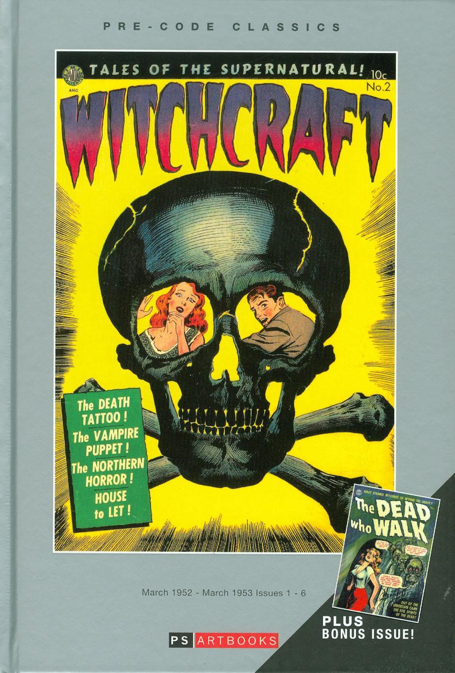 Pre-Code Classics Witchcraft Vol 1 HC