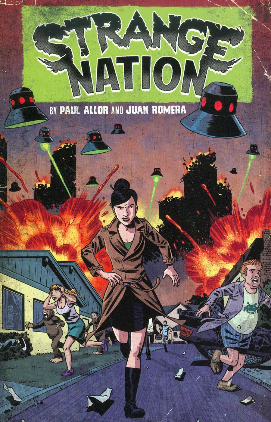 Strange Nation Vol 1 Bright Future GN