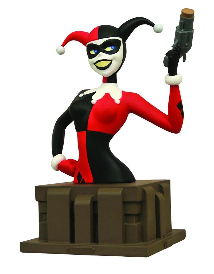 Batman The Animated Series Harley Quinn Bust