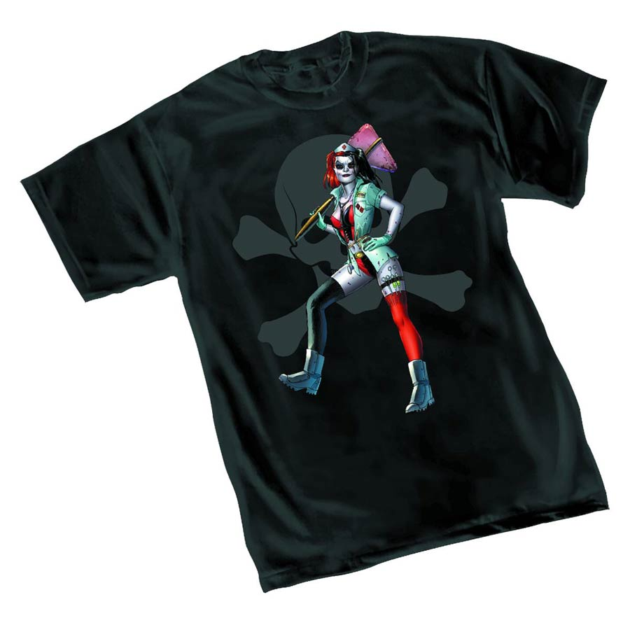 Harley Quinn Nurse Womens T-Shirt Large