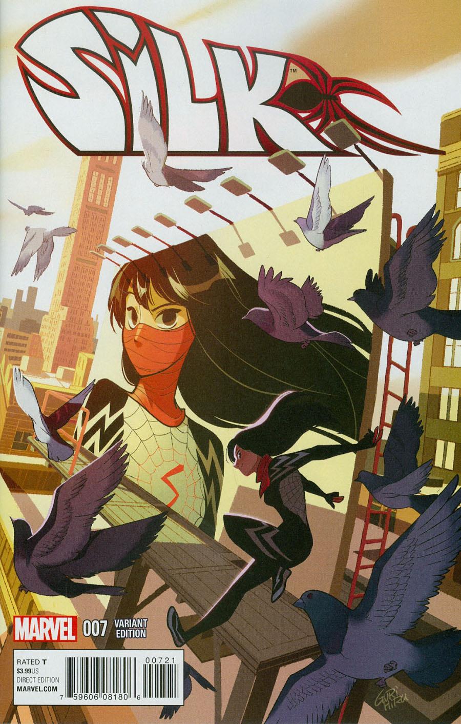 Silk #7 Cover B Variant Manga Cover (Secret Wars Last Days Tie-In)