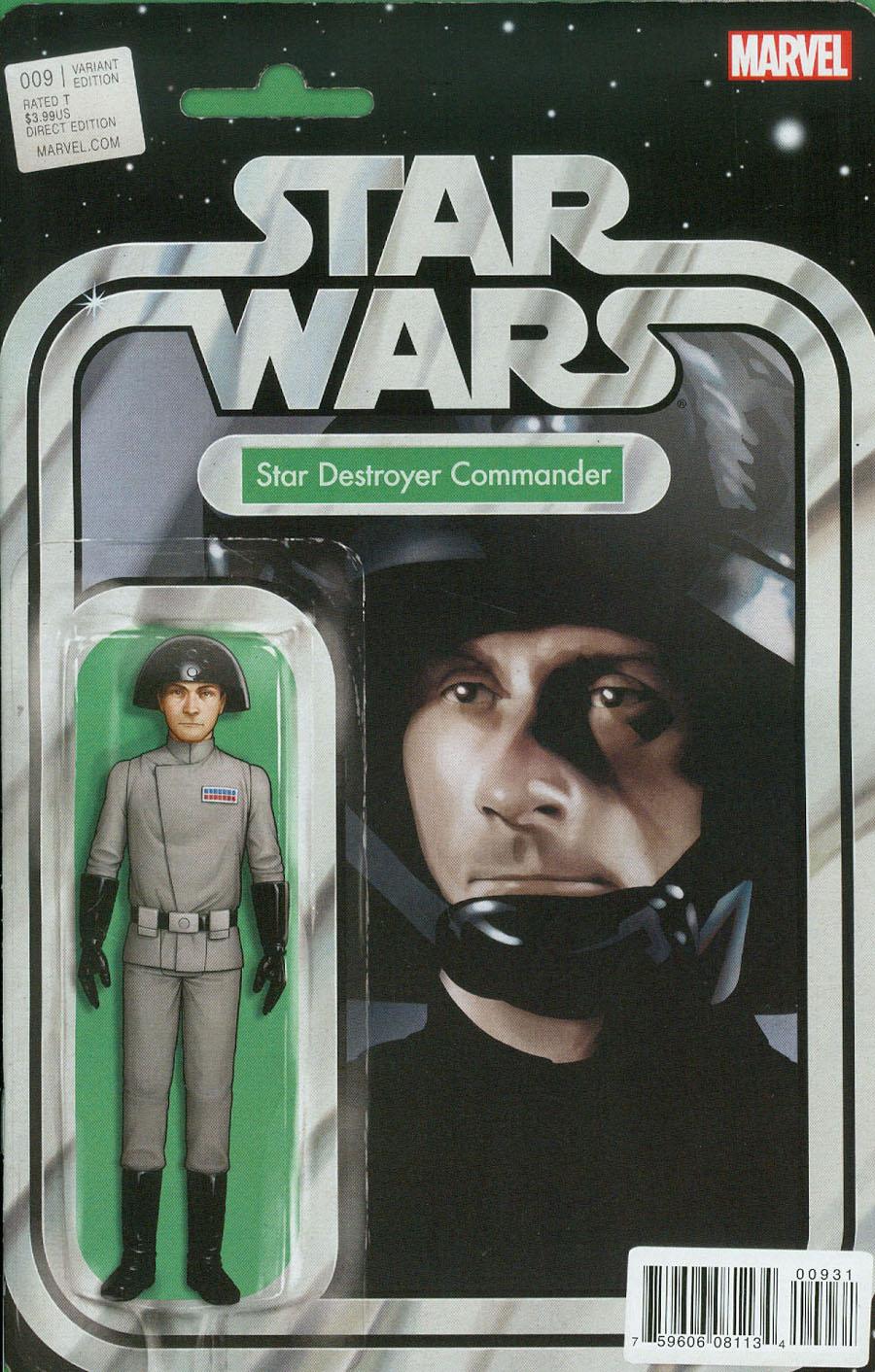 Star Wars Vol 4 #9 Cover B Variant John Tyler Christopher Action Figure Cover