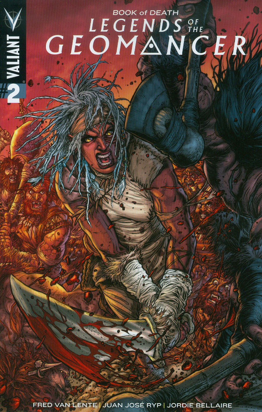 Book Of Death Legends Of The Geomancer #2