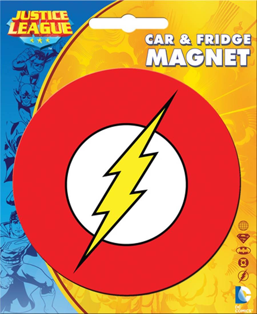 DC Comics Car Magnet Die-Cut - Flash Logo (31020DC)