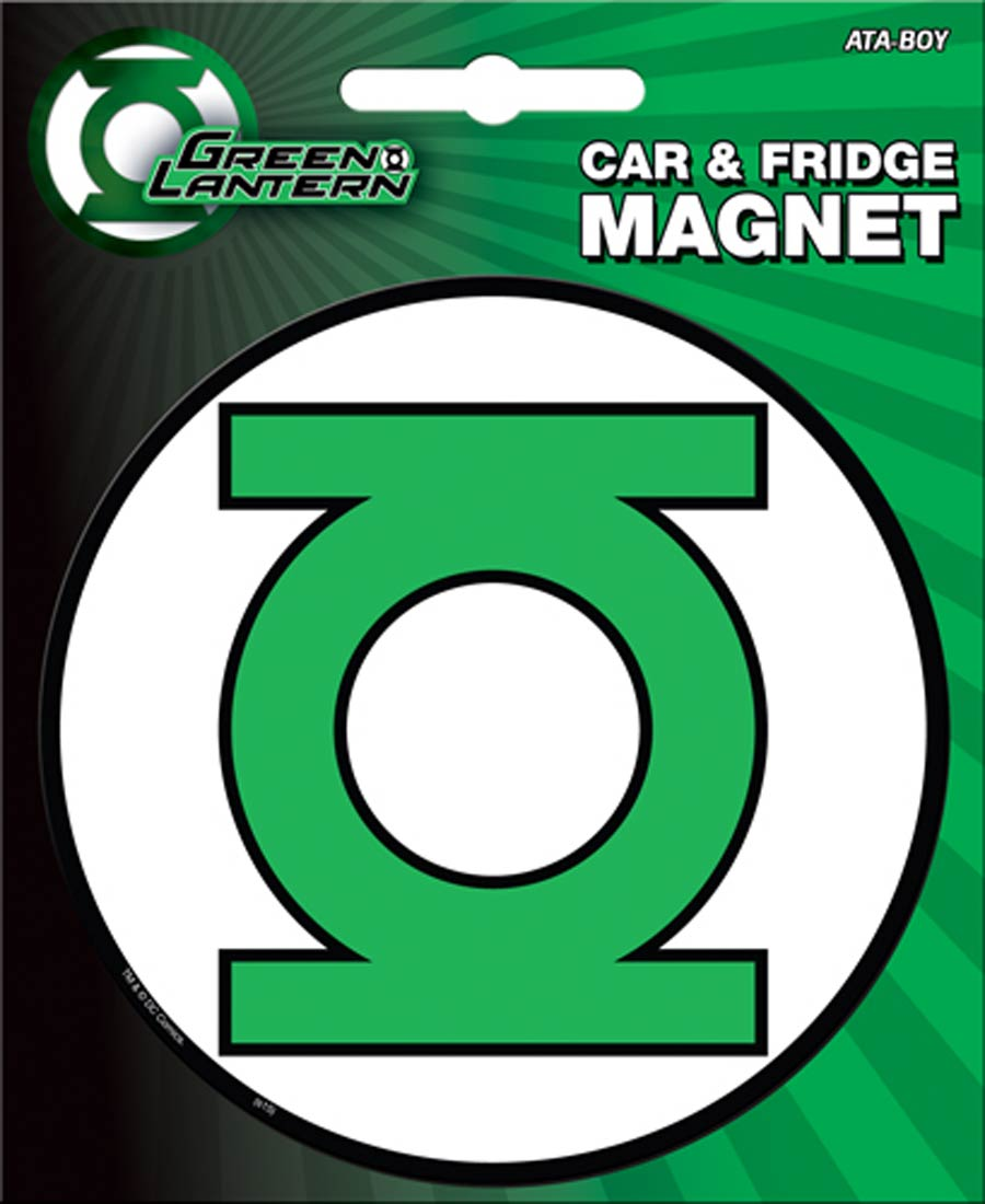DC Comics Car Magnet Die-Cut - Green Lantern Logo (31022DC)