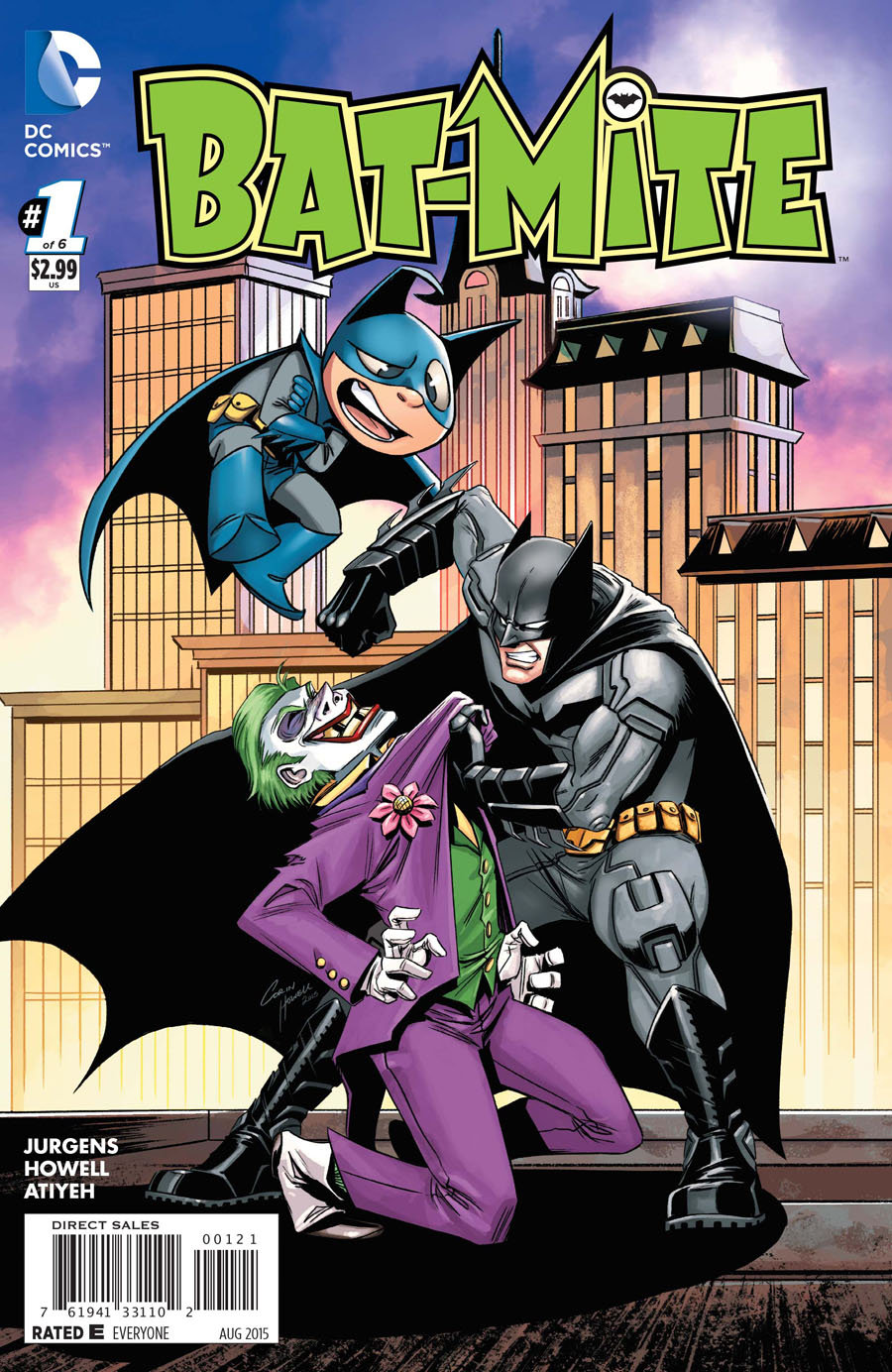 Bat-Mite #1 Cover B Incentive Corin Howell Variant Cover