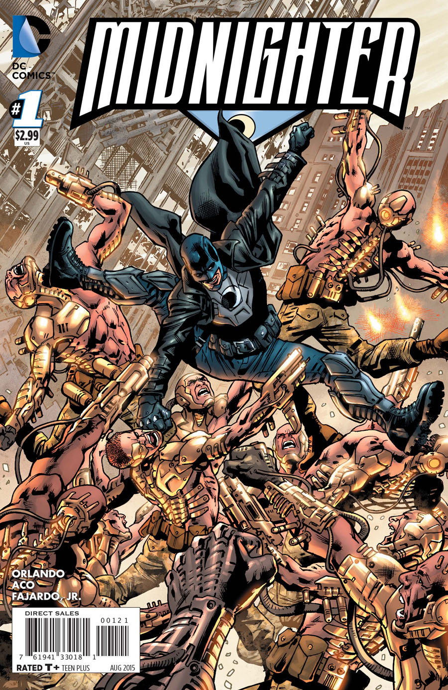 Midnighter Vol 2 #1 Cover B Incentive Bryan Hitch Variant Cover