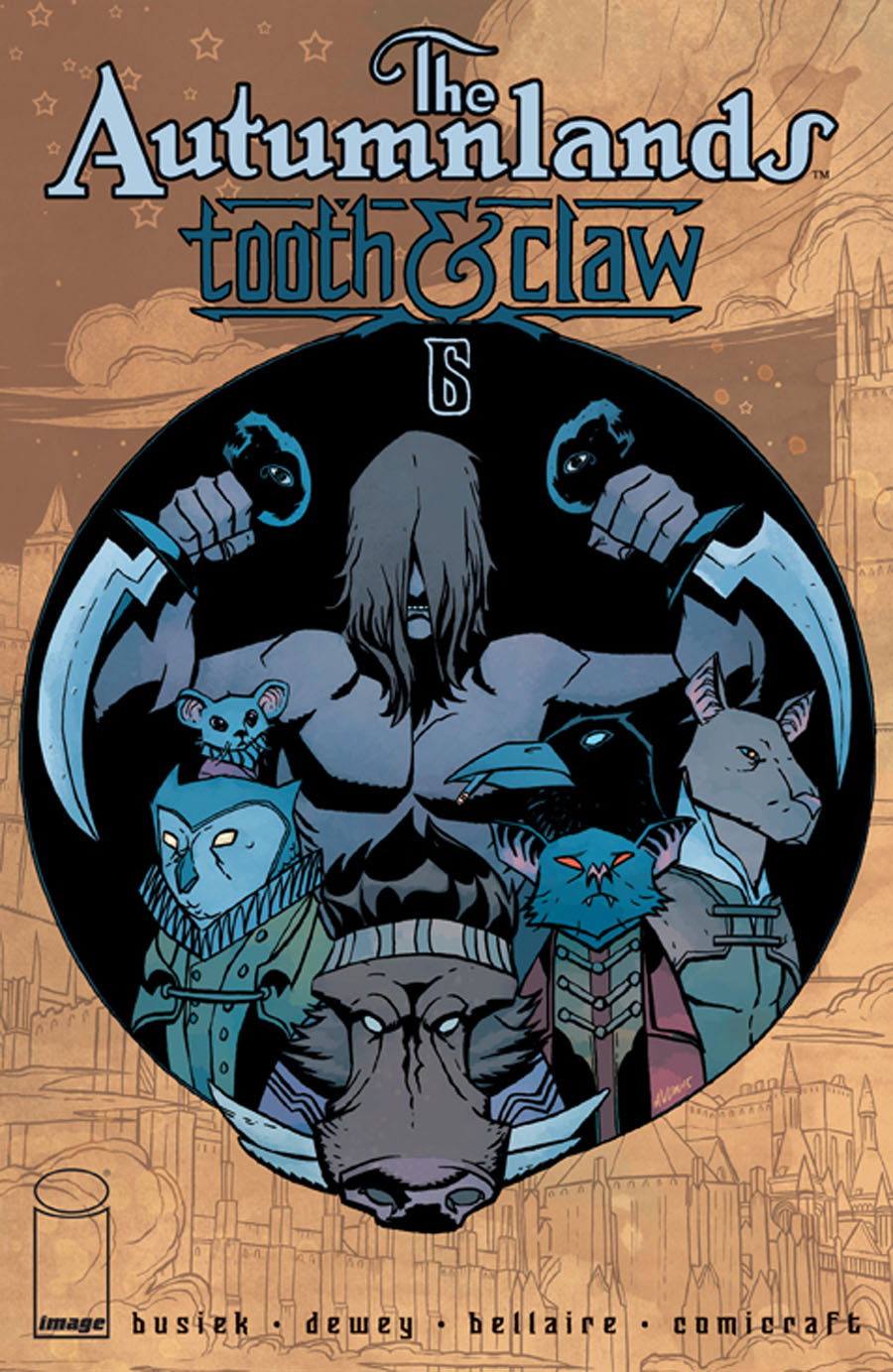 Autumnlands Tooth & Claw #6 Cover B Michael Avon Oeming