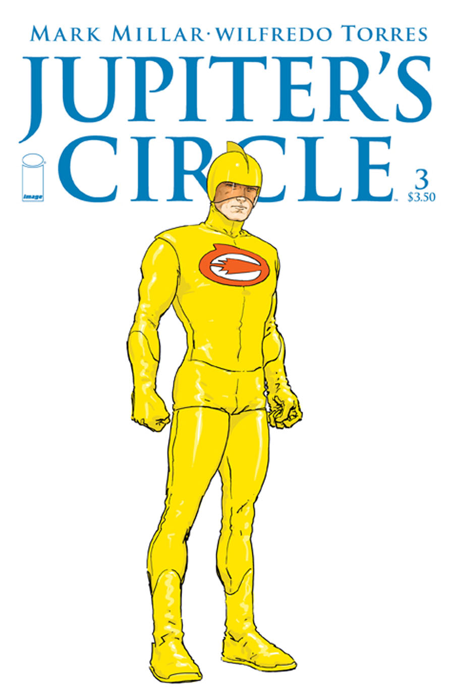 Jupiters Circle #3 Cover B Variant Frank Quitely Character Design Cover