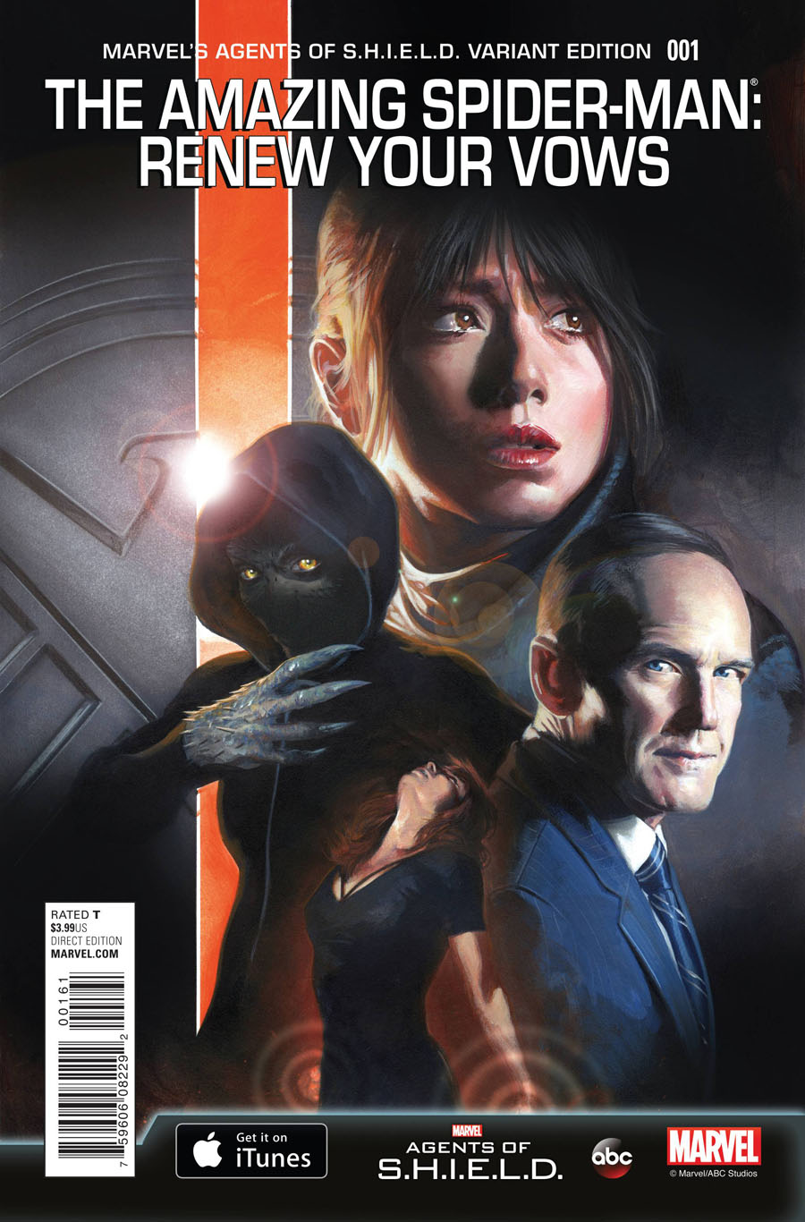 Amazing Spider-Man Renew Your Vows #1 Cover H Incentive Gabriele Dell Otto Marvels Agents Of S.H.I.E.L.D. Variant Cover (Secret Wars Warzones Tie-In)