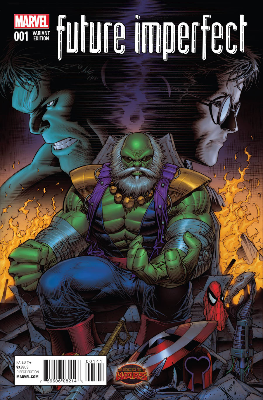 Future Imperfect #1 Cover D Incentive Dale Keown Variant Cover (Secret Wars Warzones Tie-In)