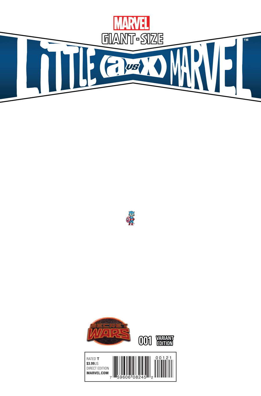 Giant-Size Little Marvel AvX #1 Cover C Incentive Skottie Young Ant-Sized Variant Cover (Secret Wars Warzones Tie-In)
