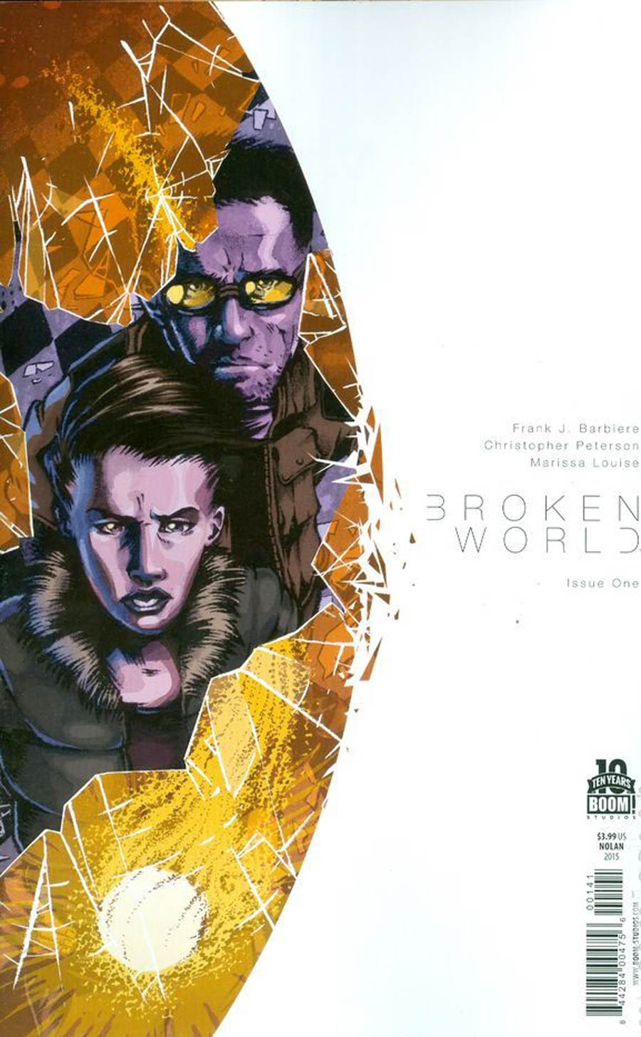 Broken World #1 Cover B Variant Conor Nolan Cover