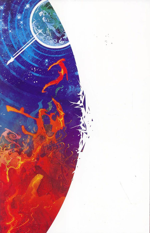 Broken World #1 Cover D Incentive Christian Ward Virgin Variant Cover
