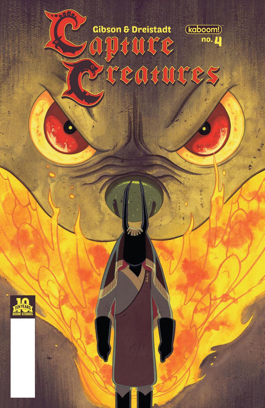 Capture Creatures #4 Cover A Regular Becky Dreistadt Cover