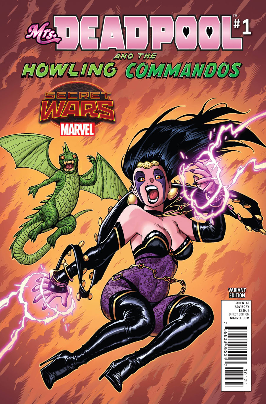 Mrs Deadpool And The Howling Commandos #1 Cover C Incentive Adam Warren Variant Cover