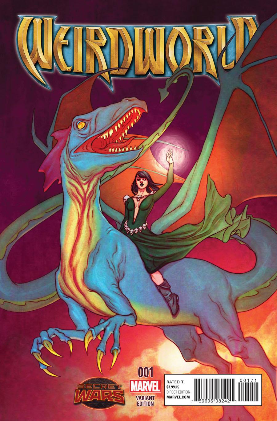 Weirdworld #1 Cover H Incentive Jenny Frison Variant Cover (Secret Wars Warzones Tie-In)