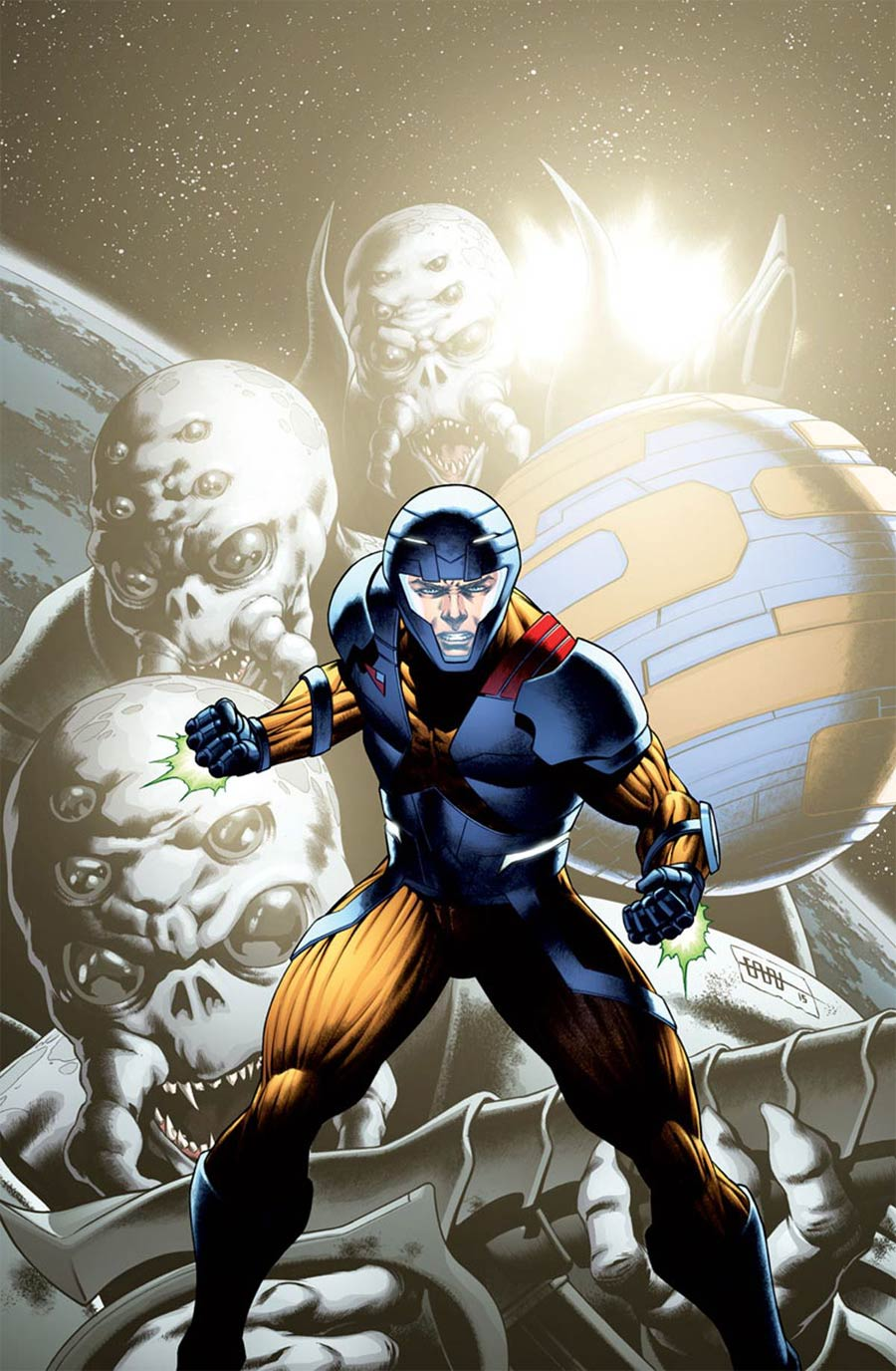X-O Manowar 25th Anniversary Special One Shot Cover B Incentive CAFU Variant Cover