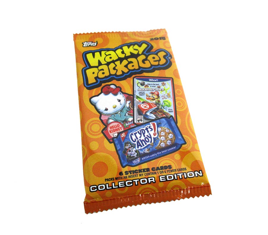 Topps 2015 Wacky Packages Trading Cards Collectors Pack