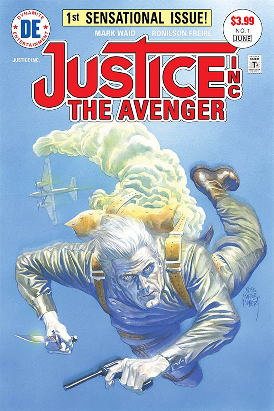 Justice Inc The Avenger #1 Cover A Regular Alex Ross Cover