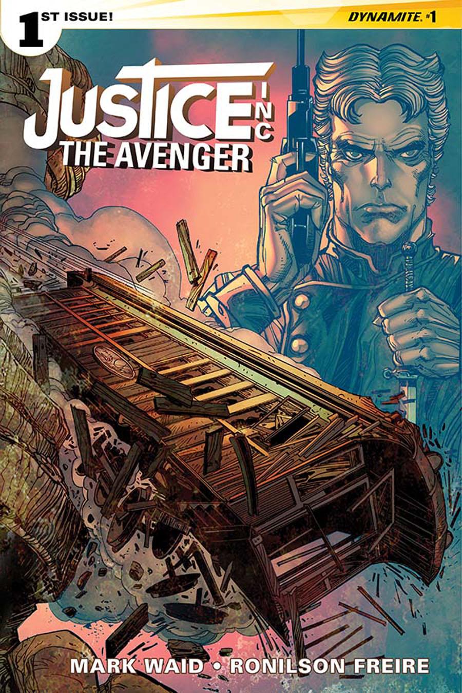 Justice Inc The Avenger #1 Cover B Regular Walter Simonson Cover