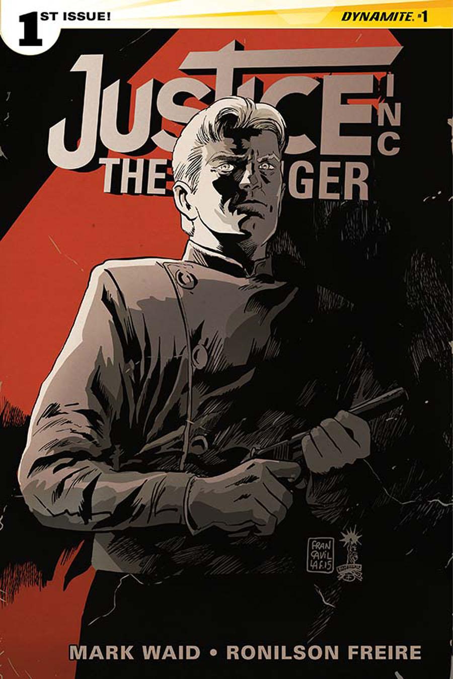 Justice Inc The Avenger #1 Cover C Regular Francesco Francavilla Cover