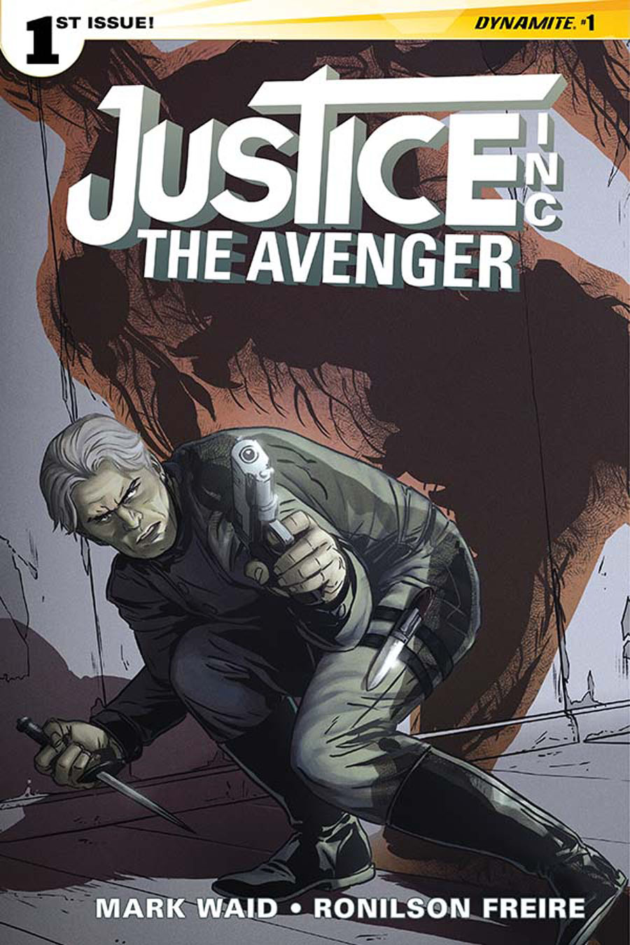Justice Inc The Avenger #1 Cover D Regular Marc Laming Cover
