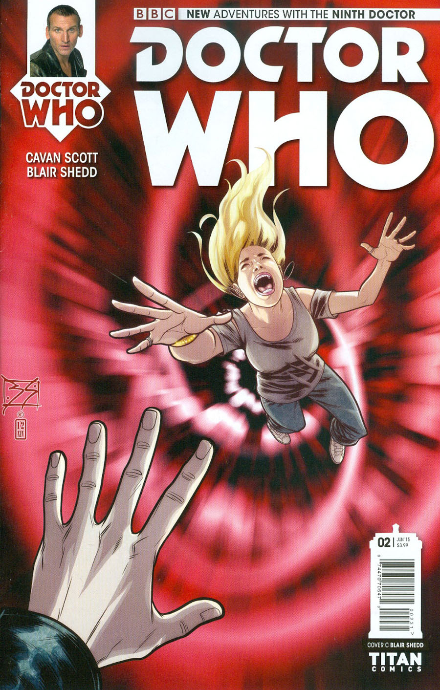 Doctor Who 9th Doctor #2 Cover C Incentive Shedd Variant Cover