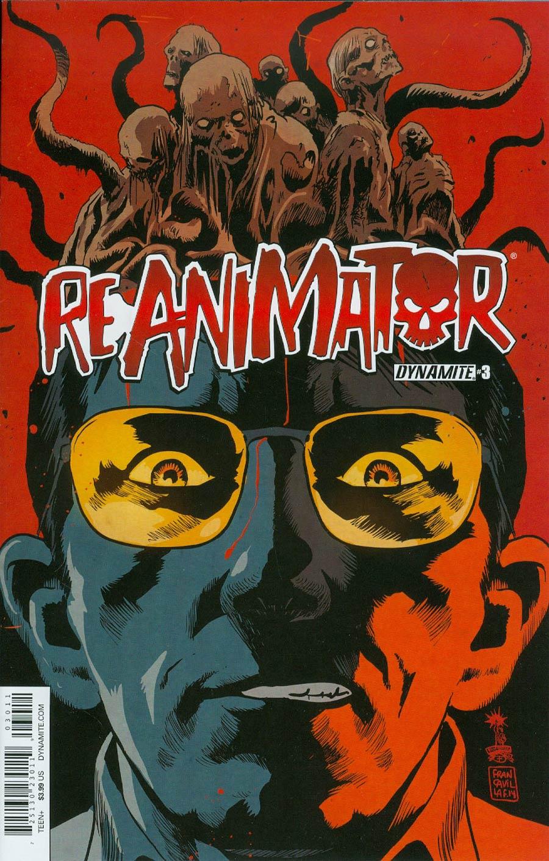 Re-Animator #3 Cover A Regular Francesco Francavilla Cover