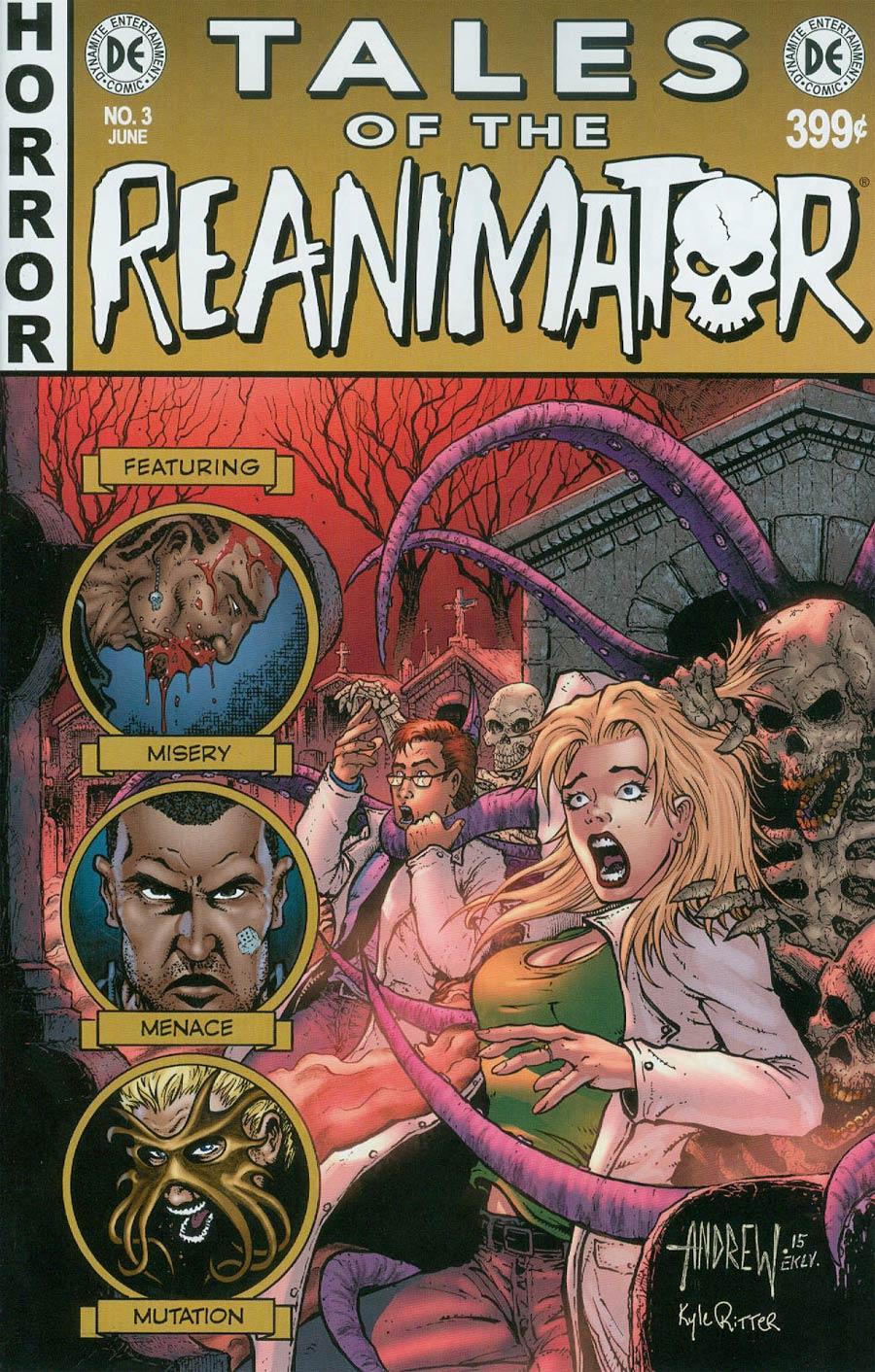 Re-Animator #3 Cover B Regular Andrew Mangum Cover