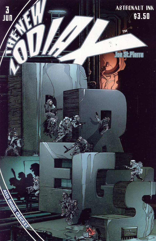 New Zodiax #3 Cover B Joe St. Pierre & Liberaider Colors