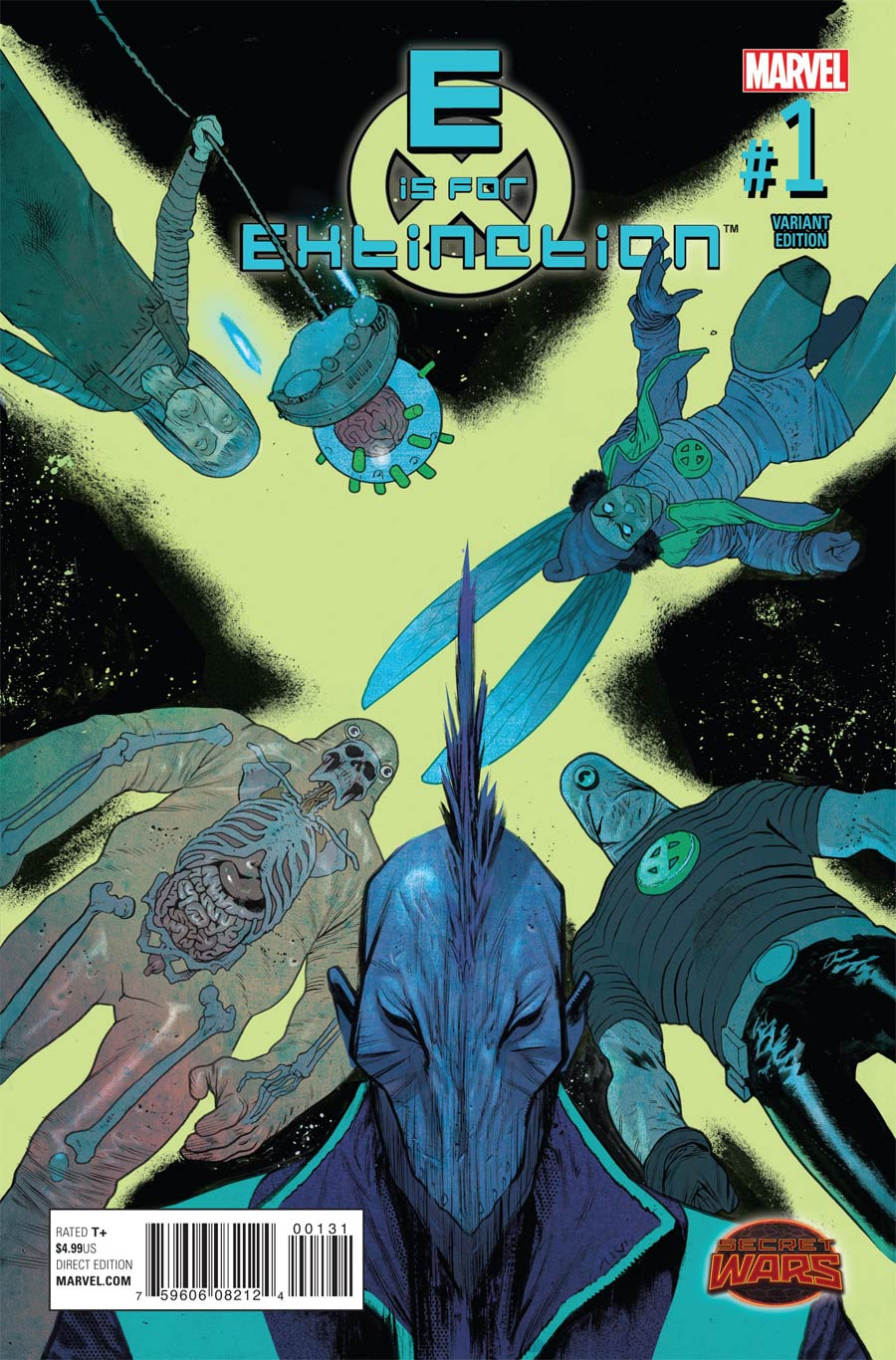 E Is For Extinction #1 Cover C Incentive James Harren Variant Cover (Secret Wars Warzones Tie-In)