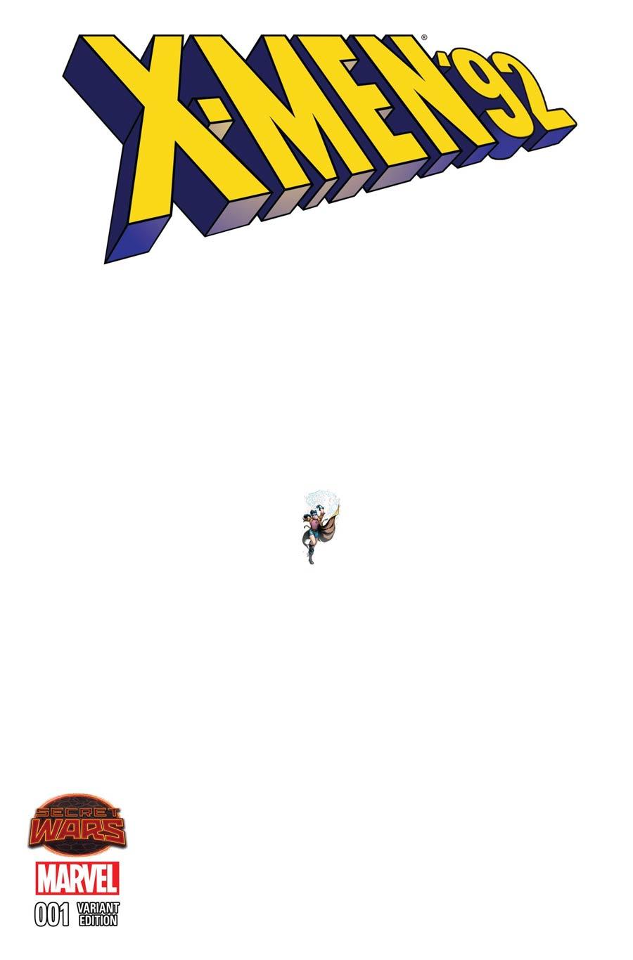 X-Men 92 #1 Cover E Incentive Whilce Portacio Ant-Sized Variant Cover (Secret Wars Warzones Tie-In)