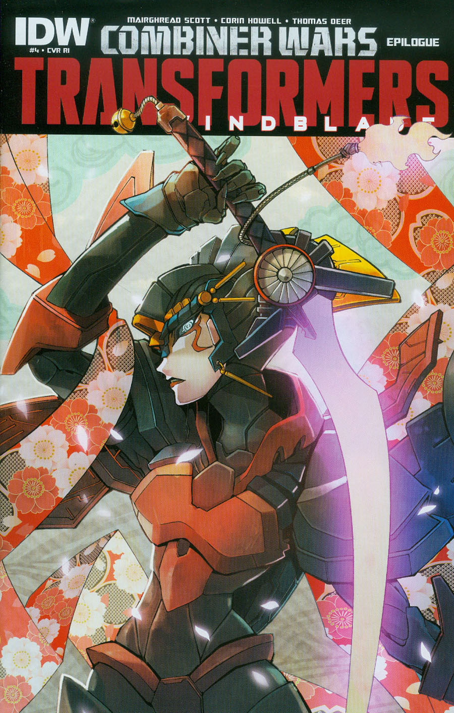 Transformers Windblade Combiner Wars #4 Cover C Incentive Naoto Tsushima Variant Cover (Combiner Wars Epilogue)