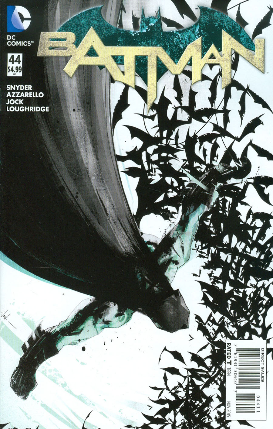 Batman Vol 2 #44 Cover A Regular Jock Cover