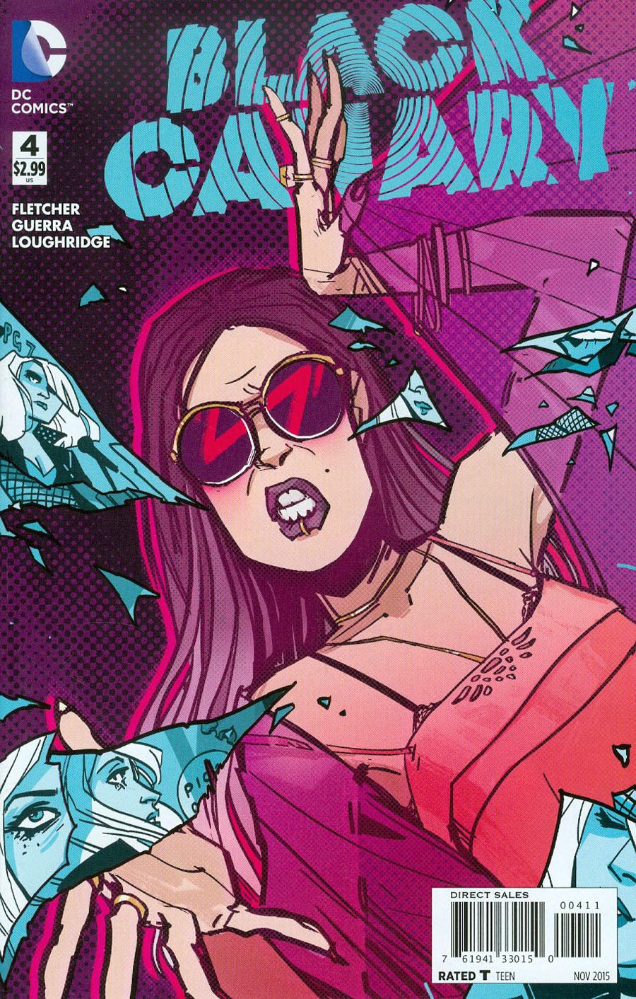 Black Canary Vol 4 #4 Cover A Regular Annie Wu Cover