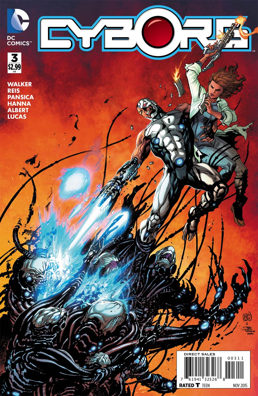 Cyborg #3 Cover A Regular Ivan Reis Cover