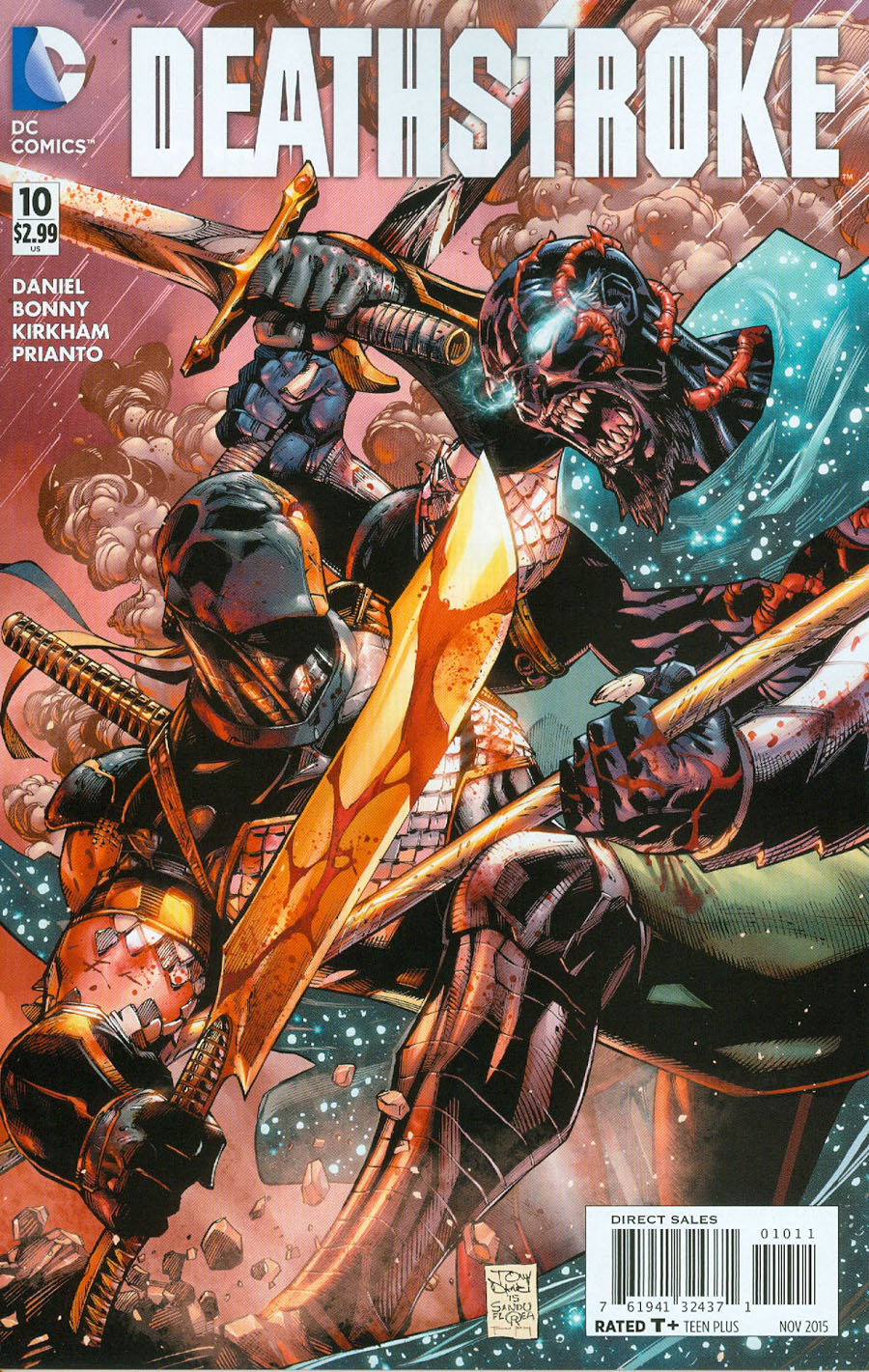 Deathstroke Vol 3 #10 Cover A Regular Tony S Daniel Cover