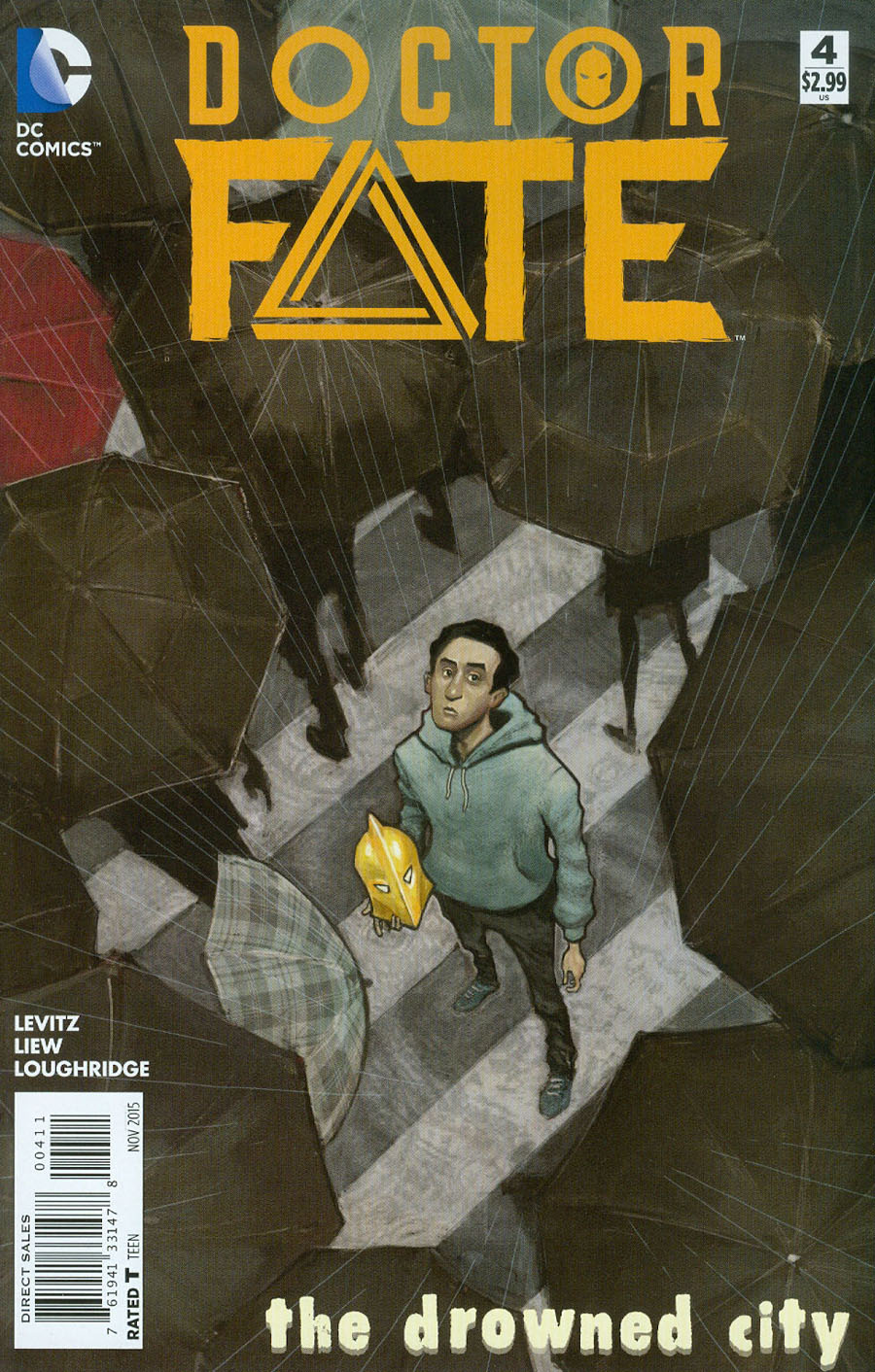 Doctor Fate Vol 4 #4