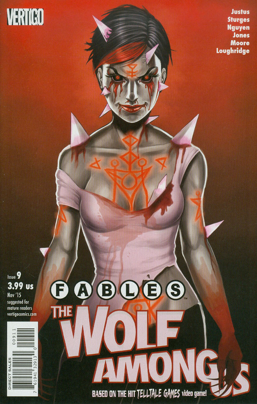 Fables The Wolf Among Us #9