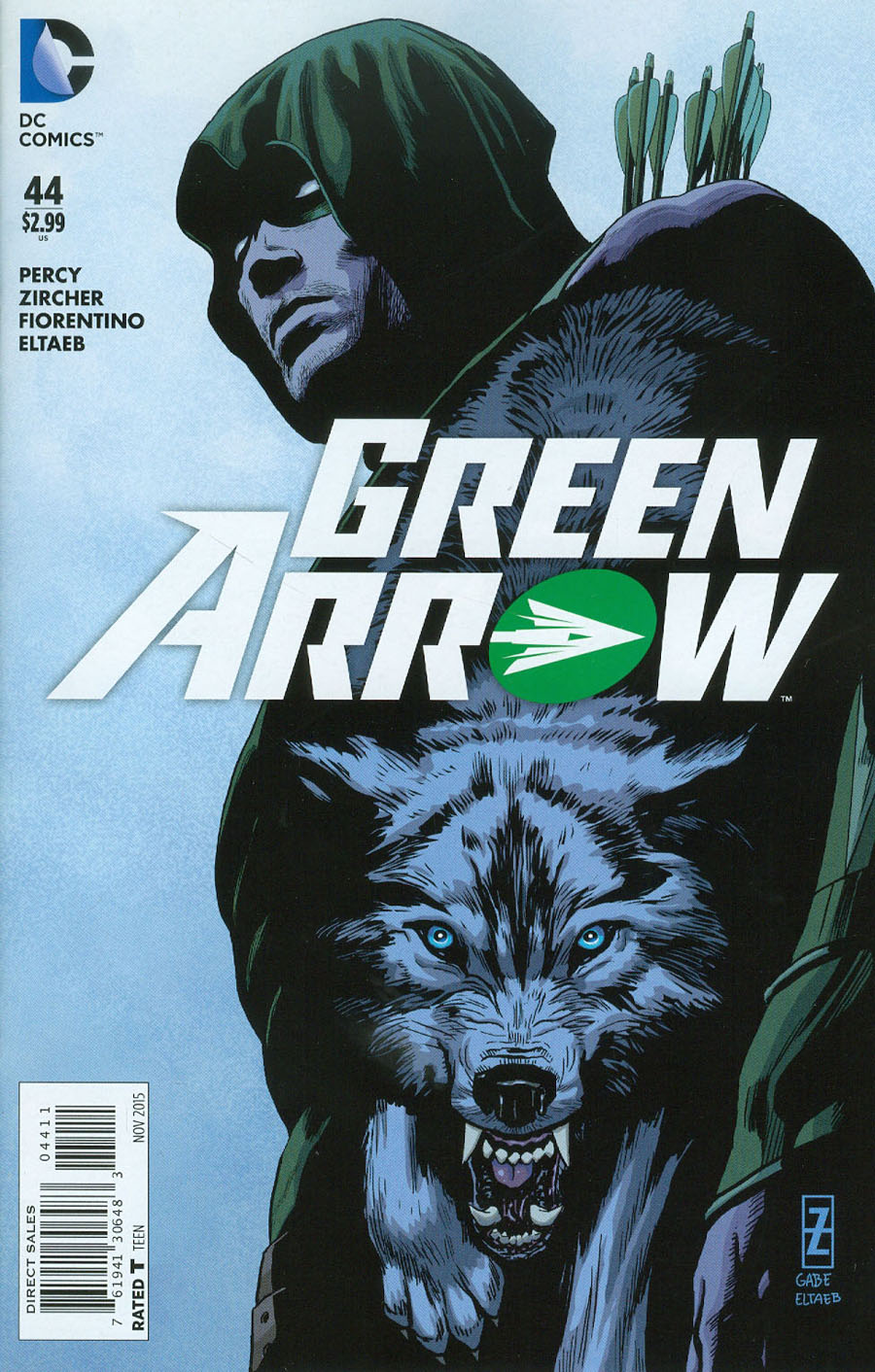 Green Arrow Vol 6 #44 Cover A Regular Patrick Zircher Cover