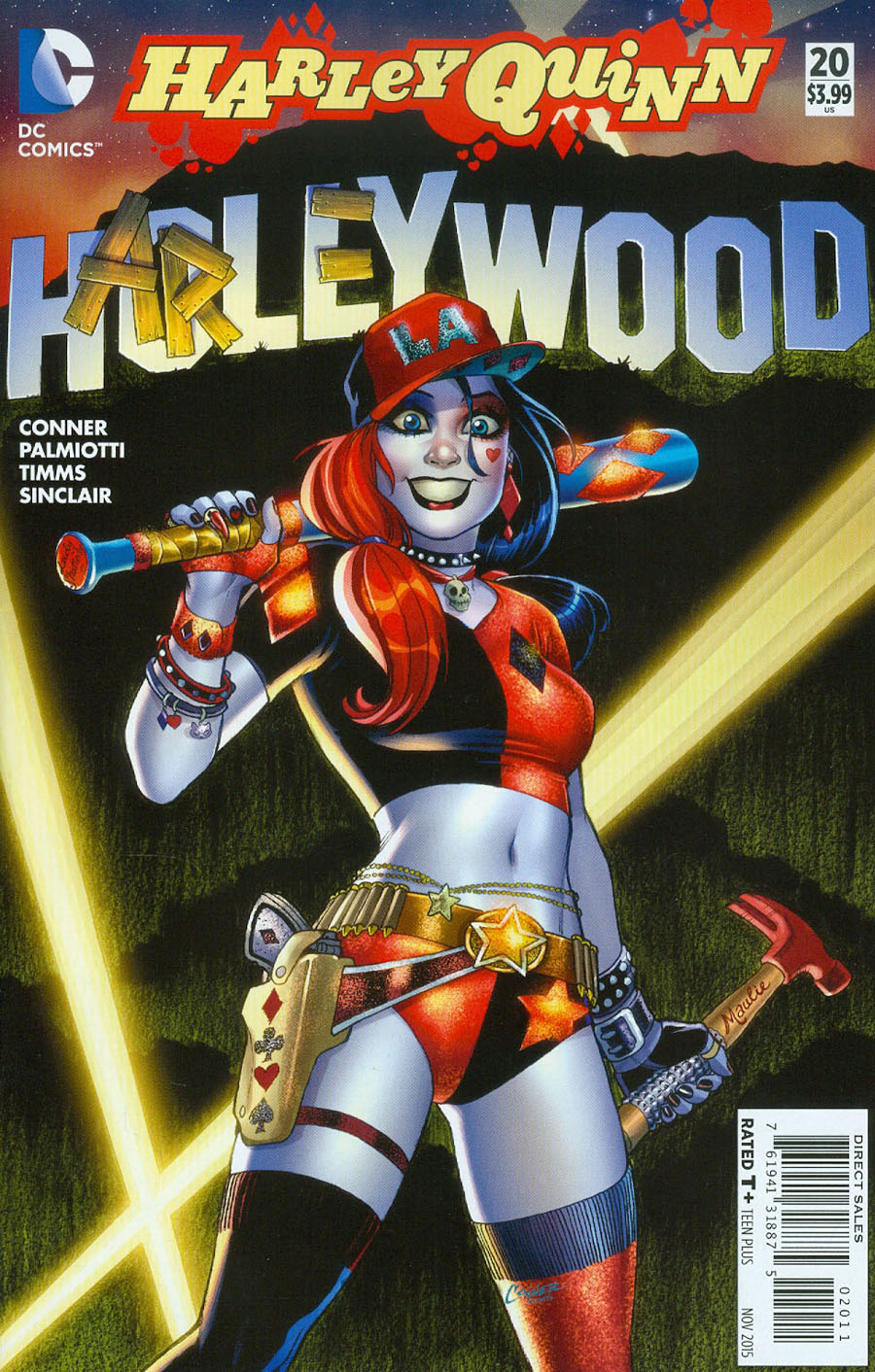 Harley Quinn Vol 2 #20 Cover A Regular Amanda Conner Cover